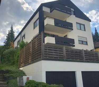 Möblierte und WG - geeignete Wohnung mit tollem Ausblick