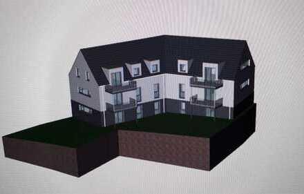 Neubau: zentrale 3,5-Zimmer-Wohnung mit Balkon in Alzenau