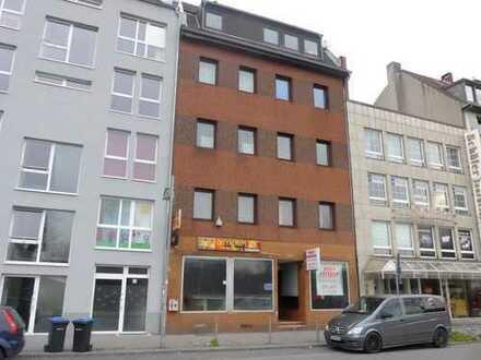 Düsseldorf-Oberbilk: Attraktives, vermietetes MFH mit zwei Ladenlokalen im EG in Düsseldorfer City