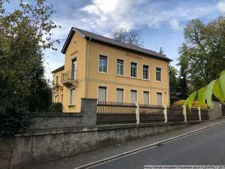 Historische Zweifamilienhaus-Villa mit Blick in die Radebeuler Weinberglandschaft