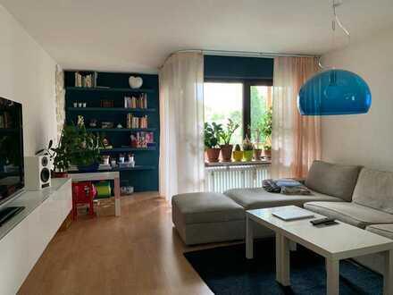 Modernisierte 3,5-Raum-Parterre-Wohnung mit Balkon in Schwäbisch Gmünd
