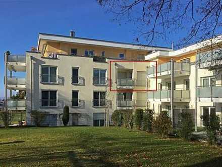Neuwertige 2-Zimmer-Etagenwohnung mit großer Ostloggia in Herrsching am Ammersee