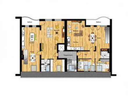 * Maisonette Neubau in begehrter Lage von Pempelfort * PROVISIONSFREI vom Bauträger