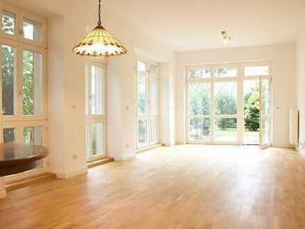 Schöne, geräumige drei Zimmer Gartenwohnung in Brandenburg an der Havel, Neustadt