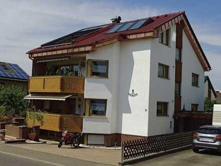 Vermiete teilmöbelierte 3 Zimmerwohnung in Schönaich
