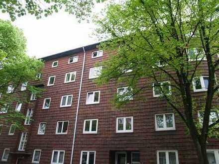 Vermietet 2-Zimmerwohnung mit Wohnküche und Kellerraum