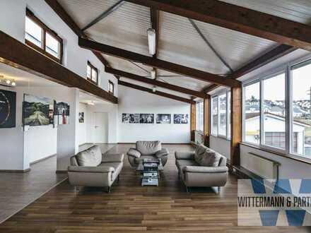Atelier mit 2 Zimmer-Wohnung kombiniert