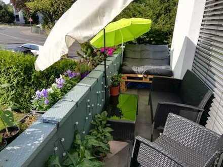 Helle Zweizimmerwohnung 57 qm mit Balkon in Bonn Ippendorf