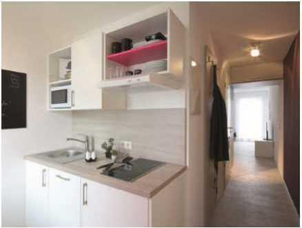 Vollmöblierte neuwertige 1-Zimmer-Wohnung zentrumsnah in Ingolstadt