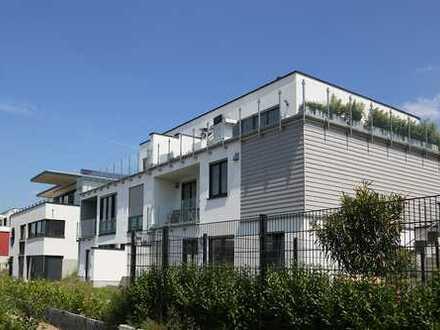 Luxus Wohnung mit 55m² Sonnenterrasse und aussergewöhnlichem Seeblick