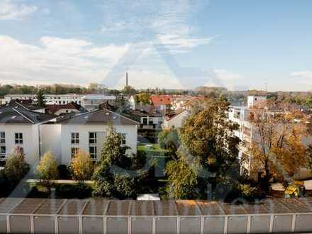 2 Zi. Whg. mit Ausblick mit Balkon, Stellplatz und Garage