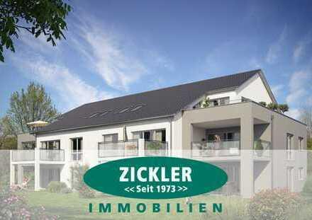 Neubau - Erstbezug - Residenz Achalmblick 2-Zimmer-Wohnung in bester Wohnlage mit großem Südbalkon