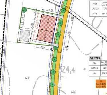 Halle 1000 qm und Büro 750qm ( teilbar) Neubau zu vermieten