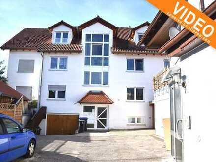**Gut geschnittene 3-Zimmer-Whg. mit Balkon u. TG-Platz in Malmsheim**