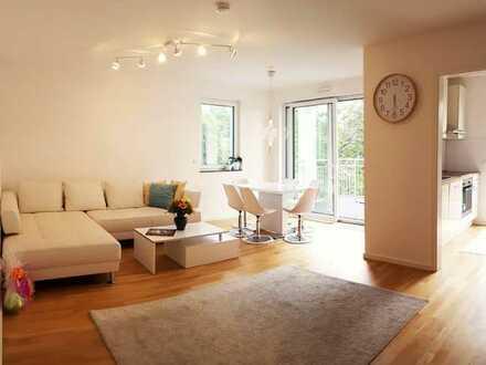 4-Zimmer-Wohnung mit großem Balkon in Frankfurt (teilweise möbiliert)