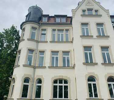 Traumhafte Wohnung mit Balkon in Gohlis
