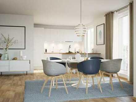 Helle 2-Zimmer-Wohnung mit gemütlichem Balkon