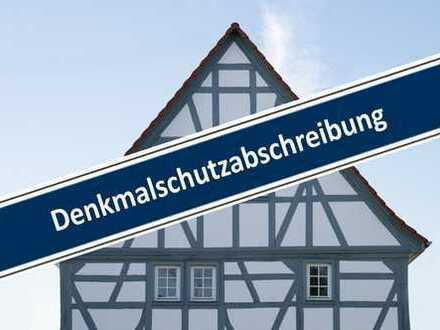 Barrierefreie bezaubernde Altstadtwohnung mit Terrasse - Hohe Denkmal-AfA