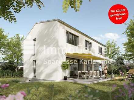 Die moderne Stadtvilla in Karlsruhe-Rüppurr