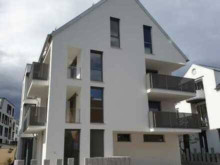 Erstbezug: Attraktive 4-Zimmer-EG-Wohnung mit Terrasse im Zentrum vonn Ostfildern-Nellingen