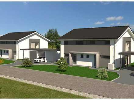 Nur noch zwei Grundstücke da !! Sehr hochwertiges Haus, Schlüsselfertig, Carport und Garage