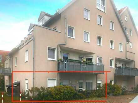 Modernisierte 3-Zimmer-Erdgeschosswohnung mit Terrasse und EBK