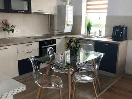 Modernisierte 2-Raum-Wohnung mit Balkon und Einbauküche in Marktoberdorf