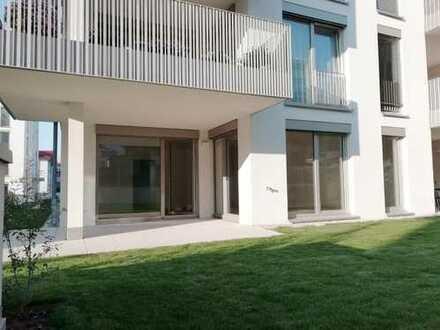 Neubau: 3 Zimmer-Erdgeschoss Wohnung im Quartier Kaiserviertel