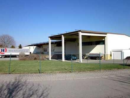 Produktions- und Lagerhalle mit Büro