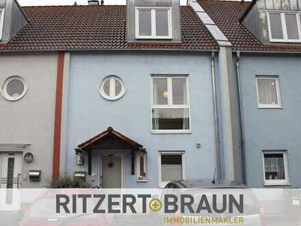 Gepflegtes Reihenhaus in Stockstadt mit Garage und 3 Stellplätzen!