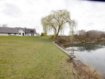 Ein Haus mit See !!! Sehr große Villa mit eigenem See und riesigem Grundstück- Leverkusen-Hitdorf