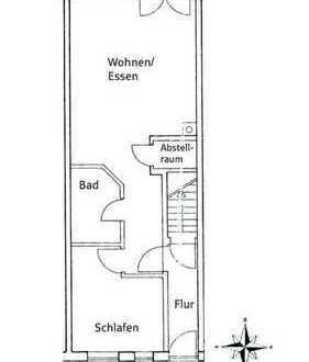 Stilvolle, gepflegte 2-Zimmer-Wohnung mit Balkon und EBK in Ingolstadt