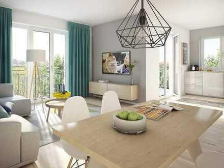 Komfortable 4-Zimmer-Wohnung mit 2 Bädern und Balkon - Nah an der Großstadt und trotzdem im Grünen!