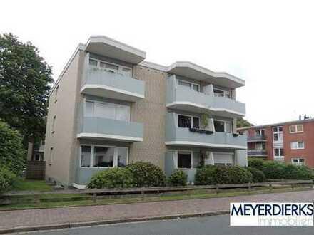 Donnerschwee - Graf-Spee-Straße: gemütliche 2-Zimmer-Wohnung mit Balkon in ruhiger Seitenstraße
