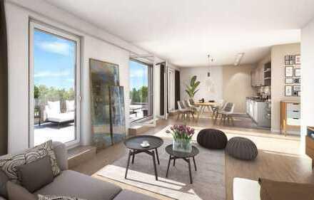 Für Familien: 4-Zimmer-Wohnung mit großem Balkon