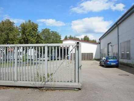 Verkauf! 850 m² Werkstatthalle inkl 133 m² Büro und 75 m² Sozialräume, 500 m² Hofraum.