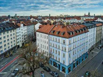 1,5 Zi.-Altbauwohnung in guter, zentraler Lage in München