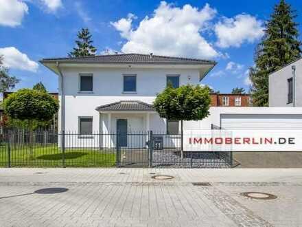 IMMOBERLIN.DE - Exquisites Einfamilienhaus mit Villenflair in naturschöner Lage