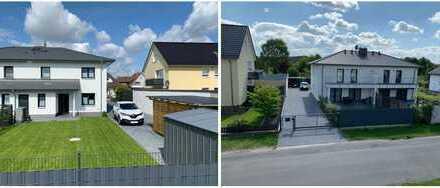 Moderne DHH mit großzügigem Grundstück