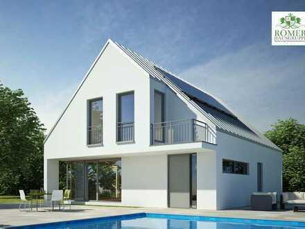 """""""Römer""""-Öko-Holz-Lehmhaus ab 120m² inkl. Grund - schlüsselfertig"""