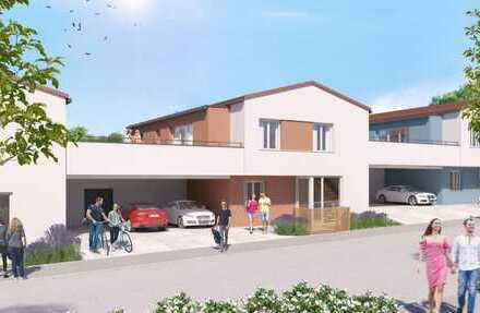 ETW 1* 3-Zi.-Neubauwohnung mit großer Terrasse, Garten und Alternativ-Lösung für die größere Familie