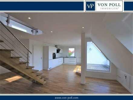 Modernes Wohnen auf zwei Ebenen mit exklusiver Ausstattung