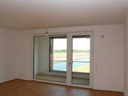 2-Zimmer Wohung mit EBK und Stellplatz mit Panoramablick auf den Zollhafen Mainz