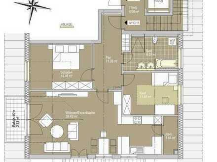 RESERVIERT! 3-Zimmer Wohnung mit zwei Balkonen
