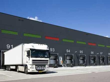 Direkt an der A7: 4.000 m² Lagerhalle mit Büroflächen in Neu-Ulm