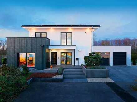 Stadtvilla + Anbau + Doppelgarage + Überdachung + Balkon *Einzugsfertig*Neubau*
