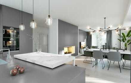 Privatgarten & Parkflair: Purer Terrassentraum! 3-Zi-Garten-Whg mit hellem Studio