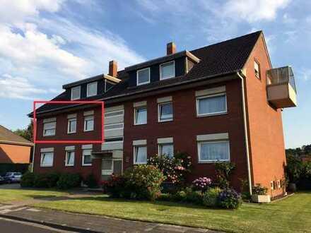 Wunderschön renovierte OG Wohnung mit Balkon, Gartenanteil u.v.m. in Papenburg OT Aschendorf
