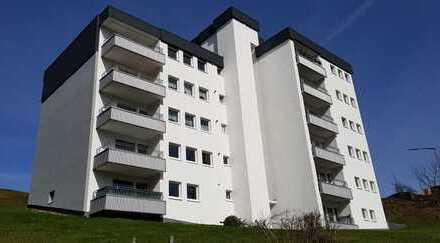 Große Wohnung mit Südbalkon und Weitblick