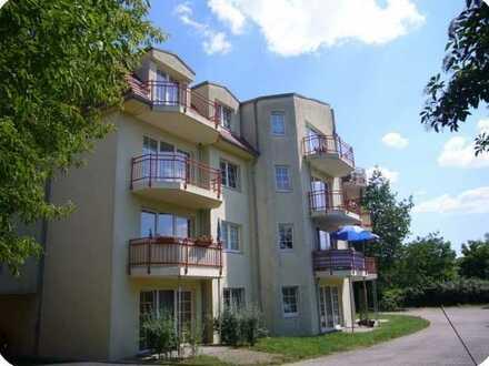 ruhig gelegene 3-Raum-Wohnung mit Balkon
